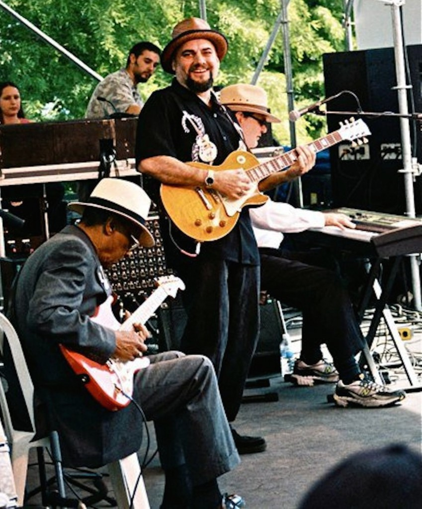 David Vest, Hubert Sumlin, Jimmy Vivino